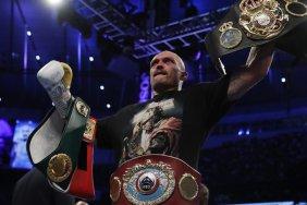 Усик возглавил рейтинг лучших боксеров в супертяжелом весе по версии BoxRec
