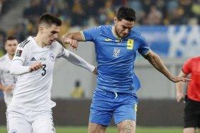 Сборная Украины сыграла вничью с командой Боснии и Герцеговины