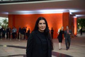 Художница Марина Абрамович представила свою инсталляцию