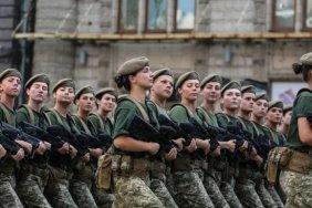 Украина в числе первых стран по количеству женщин-военнослужащих